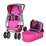 Knorr 90766 Coco - Silla de paseo de juguete, color rosa