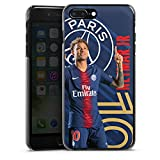 DeinDesign Coque Compatible avec Apple iPhone 8 Plus Étui Housse Paris Saint-Germain Produit sous Licence Officielle PSG Neymar Jr