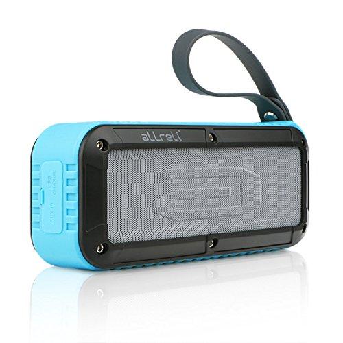 aLLreLi 10W Altavoz Bluetooth con 8 Horas para HuaWei, XiaoMi, Samsung, Nexus, HTC, iPhone y iPad, etc. - azul