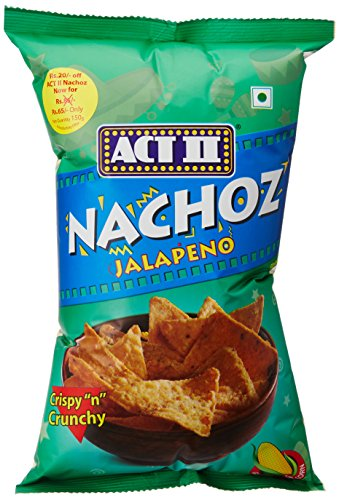 ACT II Jalapeno Nachoz, 150g For Rs. 58