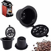 Bazaar Cocina casera de café taza recargable cápsula de filtro de recarga reutilizable para máquina de