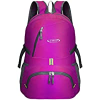 G4Free 30L Ultra Lightweight Tear   Water Resistant Foldable Backpack  Packable Rucksack for Travelling 611aa72deceba