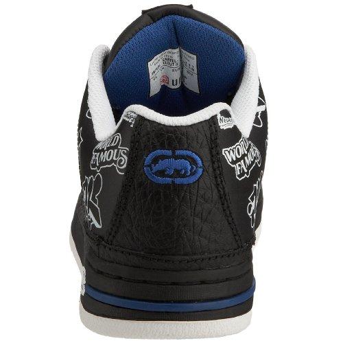 Ecko Clout II, Jungen Sneaker Schwarz (Black/White)