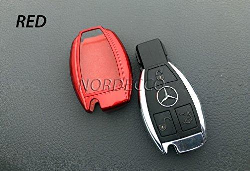LianLe Coque 3/boutons pour t/él/écommande de voitures Rouge
