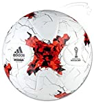 #8: FIFA 2017 Hand Stitched Super Synthetic Training Football by A C Sports - White