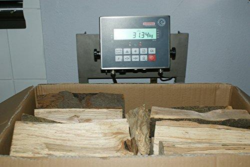Preisvergleich Produktbild 30 kg Kaminholz Buche 25 cm lang trocken - LIEFERUNG KOSTENLOS -