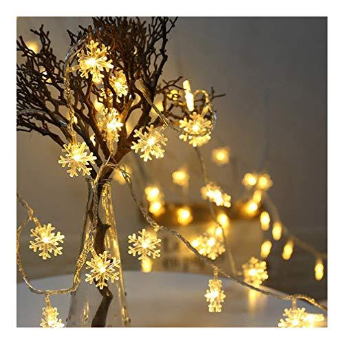 Starall 20LED 3 Meter String Lichterkette Batterie Schneeflocke Weihnachtsbaum Party Home Decor -