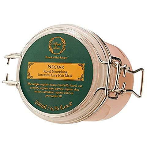 Fresh Line Nectar - Königliche Nahrung Haar-Therapie Maske für alle Haartypen, 1er Pack (Glatte Glanz Creme)