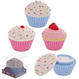 Strawberry Crème mains à Cupcake Cup Cake-cadeaux et cartes de vœux, idée cadeau idée de cadeau personnalisé