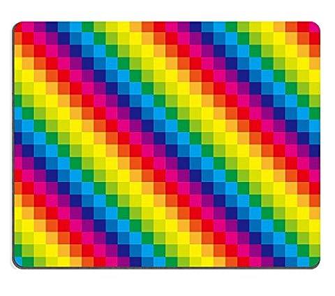 luxlady Gaming Mousepad Bild-ID: 33823068Hintergrund Material Tapete eine Set von RAINBOW COLOR Fliesen