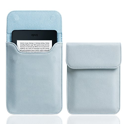 "WALNEW 6"" Kindle Hülle für Kindle Paperwhite,Kindle Voyage und Kindle 8th Gen Schutzhülle Tasche Sleeve Case Lederhülle"