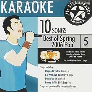Karaoke: Best of Spring 2006 Pop 5