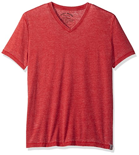 lucky-brand-burnout-t-shirts-v-neck-l-herren