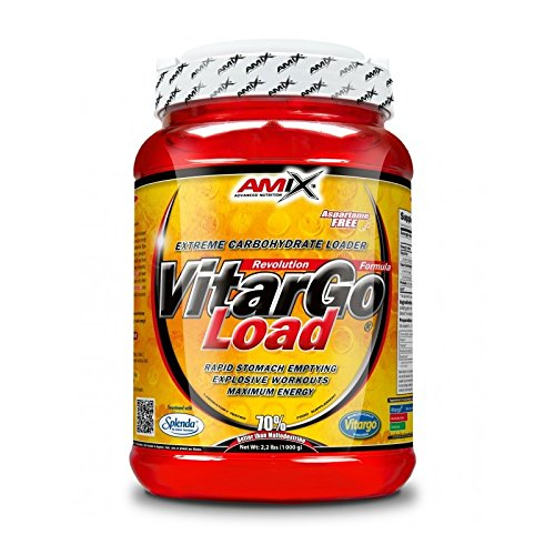 Amix Vitargo Load Suplemento de Carbohidratos Naranja - 1000 gr