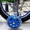 Universal Kinder Radstabilisator, Fahrrad StüTzräDer, Hilfsrad StäNder Kinderfahrrad StüTzrad Sicherheit Und StabilitäT FüR 12 14 16 18 20 Zoll KinderreitausrüStung