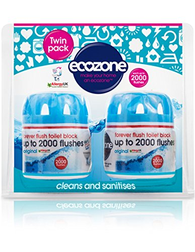 ecozone-forever-flush-2000-toilet-block-twin-pack-blue-cleans-and-sanitises-lasts-up-to-2000-flushes
