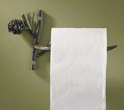 Park Designs Pine Cone Toilet Tissue Holder by Park Designs (English Manual)