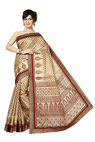Rani Saahiba Synthetic Saree (Skr1606_Red)