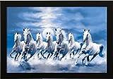 #3: SAF Seven Running Horses Vastu Painting (Synthetic, 35 cm x 3 cm x 50 cm)