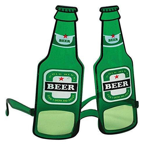 8 Bierflasche Gläser, Einheitsgröße (Bierflasche Halloween-kostüm)