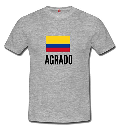 T-shirt Agrado city grigia