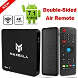4K Android TV BOX - Maxesla Max-C Smart TV Box with Upgrade Amlogic