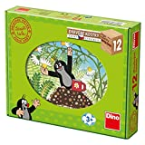 Dinotoys 641211 Hölzerne Puzzlewürfel