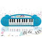 Popsugar - THPI6614AB Mini Musical Keyboard with 24 Keys for Kids, Blue