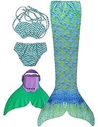 Flyhigh Niñas Cola de Sirena para Nadar