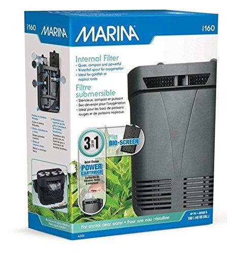 Filtro interior, para acuarios de hasta 160 litros