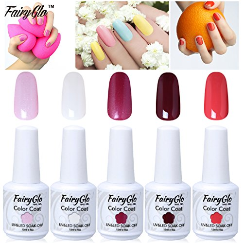 fairyglo-5-pcs-gelpolish-uv-led-nagellack-soak-off-glanzend-goregous-lack-manikure-pedikure-kollekti