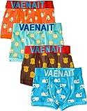 Vaenait baby 2T-7T Jungen 4er Packung Sparpack Mehrfachpackung Boxer Unterhosen mit Breitem Bund Set