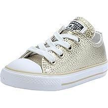 zapatillas converse niña doradas