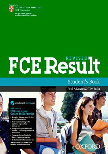 FCE Result Student Book and Online Skills Practice Pack Pap/Psc edition by Davies, Paul A., Falla, Tim (2011) Paperback