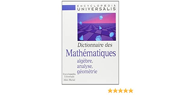 encyclopedie universalis mathematiques