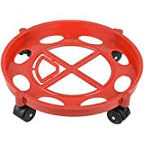 SHOPEE Branded Gas Cylinder Trolley with wheels|Gas Trolly|Lpg Cylinder Stand,Color May Vary