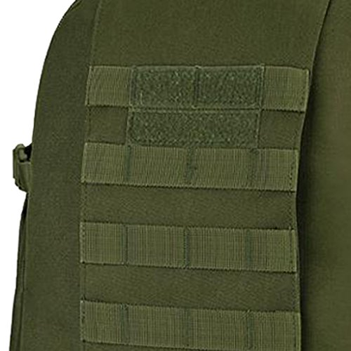 Gazechimp 40L Backpack Molle Rucksack taktischer Rucksack Wanderrucksack Kampfrucksack Trekkingrucksack Reiserucksack Sportrucksack Armeegrün