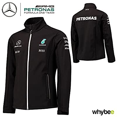 2017 Mercedes-AMG F1 Lewis Hamilton Formula 1 Team Softshell Jacket by Hugo Boss by Mercedes-AMG Petronas Formula One Team