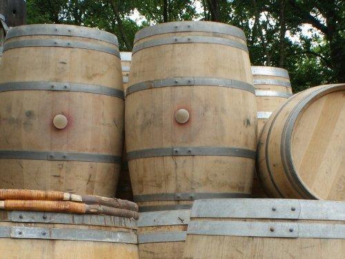 Half Oak Barrel Planter / Water Butt / Garden Ornament / Feature / Rain Harvesting