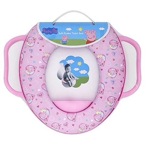 Peppa Pig Soft Padded Toilet Training Seat