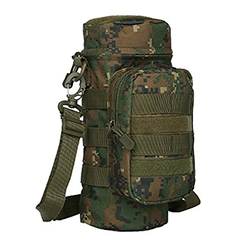 MOLLE Water Bottle Holder Pouch Carrier Sling Bag Carrying Case