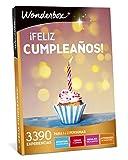 WONDERBOX Caja Regalo -¡Feliz CUMPLEAÑOS!- 3.390 experiencias para Dos Personas