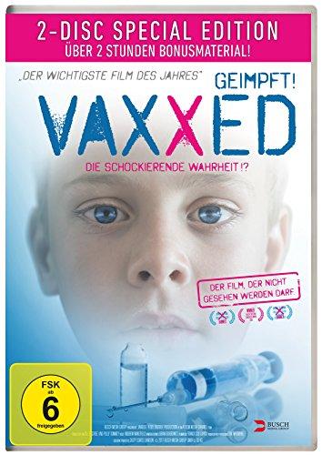 Preisvergleich Produktbild Vaxxed - Geimpft! Die schockierende Wahrheit! [Special Edition] [2 DVDs]
