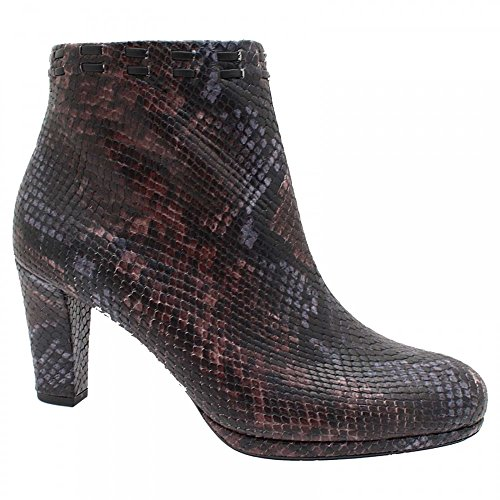 Peter Kaiser Forme De Peau Animale Plantform Ankle Boot Black Multi