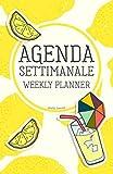 Scarica Libro Agenda Settimanale Weekly Planner Giallo Limone Weekly Planner Agenda perpetua in italiano senza data life organizer da borsa 12 mesi 54 settimane (PDF,EPUB,MOBI) Online Italiano Gratis