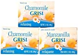 EMOLLIENT COSMETIC CLEAN BATH SOAP WITH 3 PACK GRISI SOAP CHAMOMILE MANZANILLA by GRISI CHAMOMILE