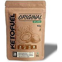 KETOFUEL Original Zero-Carb MCT+Coconut Oil Fat Powder 500g (Unflavored)