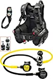 Cressi 1946 Start Pro Scuba Set - Int Tauch Diving, Schwarz, XL