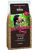 bosch My Friend Soft | Hundefutter für ausgewachsene Hunde aller Rassen | Vollwertkost mit softer Krokette | 15 kg
