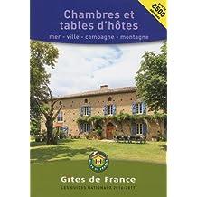 Chambres et Tables d'hôtes 2016/2017